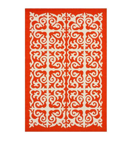 100 modern orange rug modern floral rugs yliving