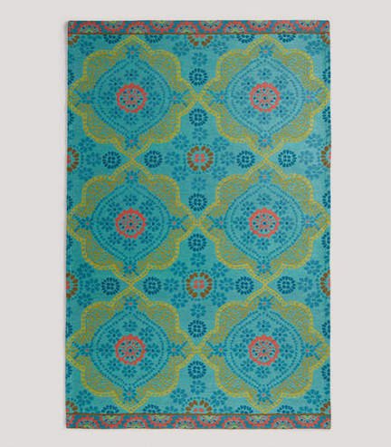 Spring Fever Modern Outdoor Rugs Austin Interior Design