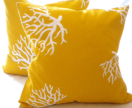 Spring Fever Modern Outdoor Pillows Austin Interior