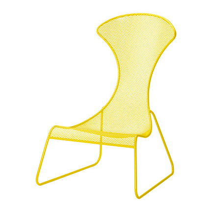 PS 2012 Easy Chair In Yellow ...