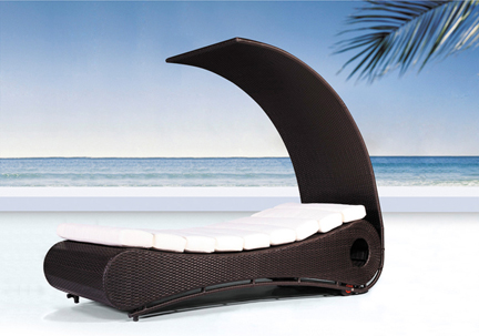 Dream Outdoor Lounge Chair With Canopy ...