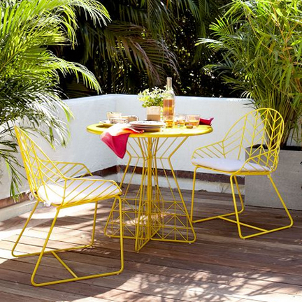 Spring Fever: New Modern Outdoor Furniture