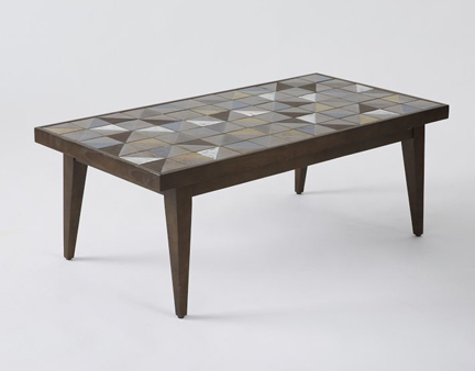 Cb2 austin interior design by room fu knockout interiors for West elm geometric coffee table