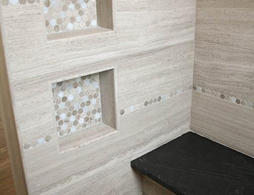 Luxurious Marble Master Bath