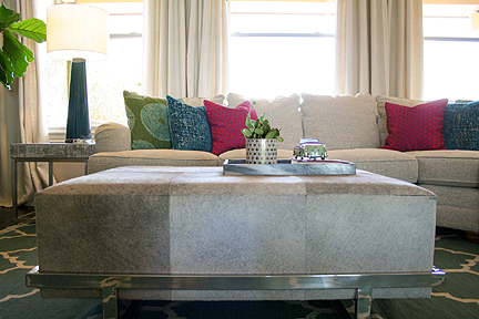 Casual Comfortable And Colorful Westlake Living Room