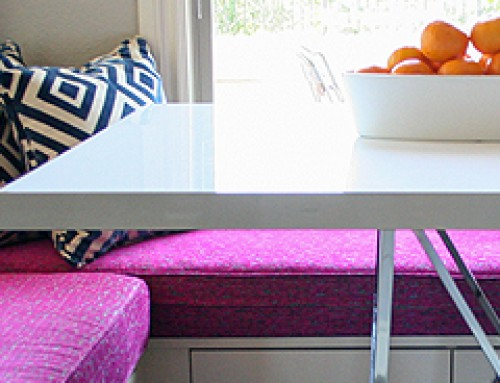 Colorful Westlake Breakfast Banquette