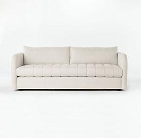 Art Deco design modern Stitch Sofa from CB2