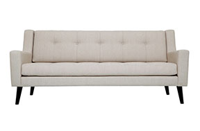 EQ3 Elise modern mid-century sofa at Five Elements Furniture in Austin, TX